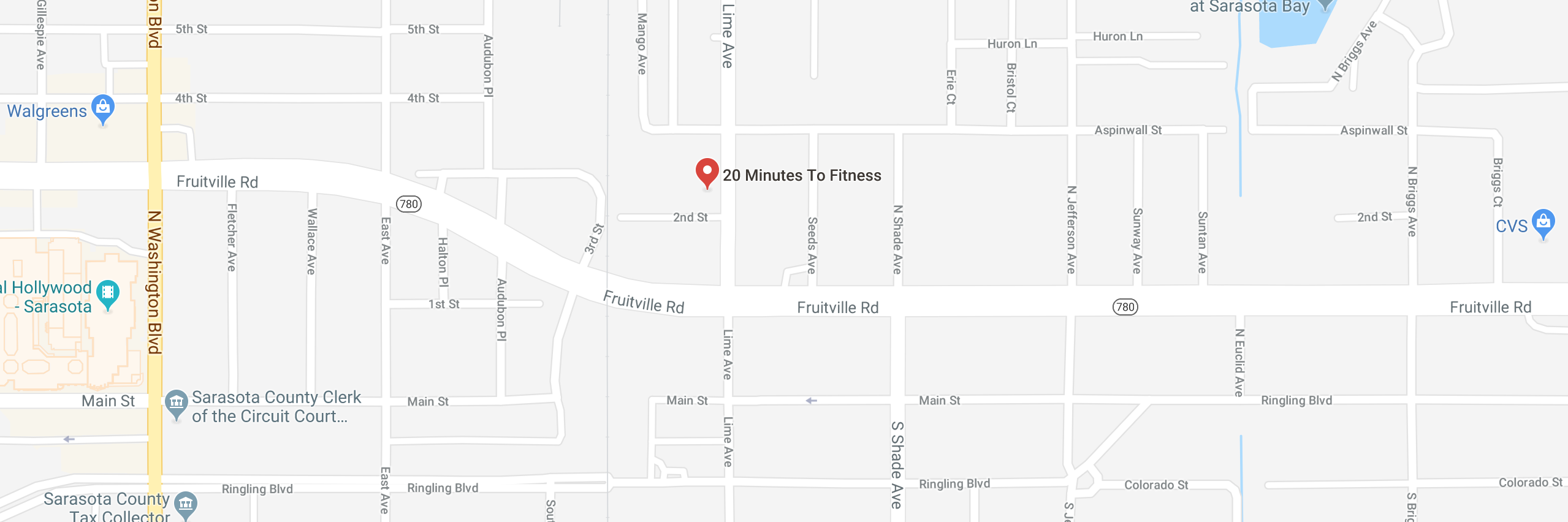 20 Minutes to Fitness - Sarasota - Downtown